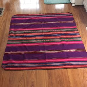 AUTHENTIC LATIN COLORFULLY HANDWOVEN TAPESTRY